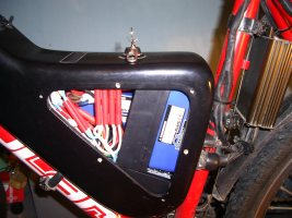 Battery housing for the Viper electric bicycle