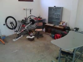 Needed parts and equipment for an electric bicycle